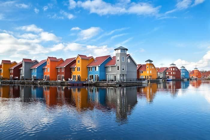 The Most Colorful Cities in Europe Amsterdam Netherlands