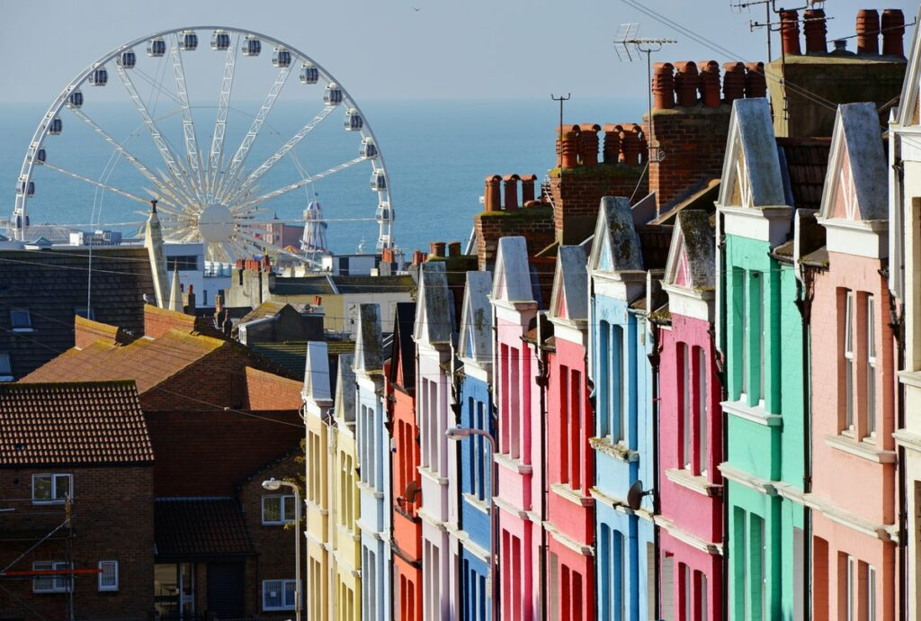 The Most Colorful Cities in Europe Brighton UK