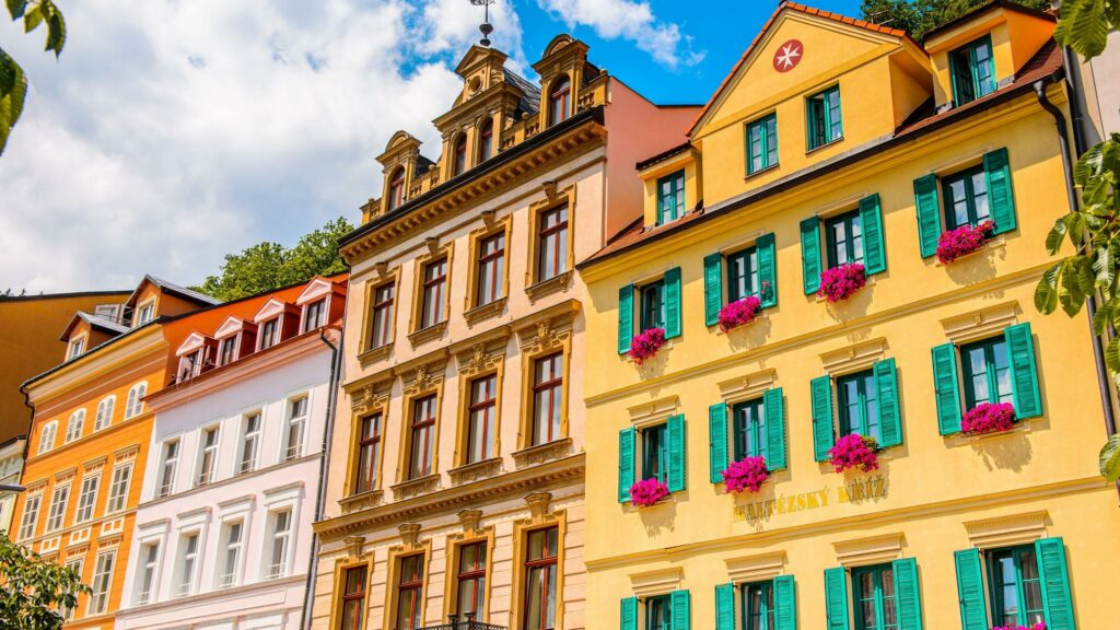 The Most Colorful Cities in Europe Karlovy Vary