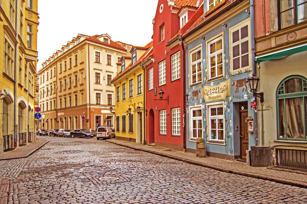 The Most Colorful Cities in Europe Riga Latvia