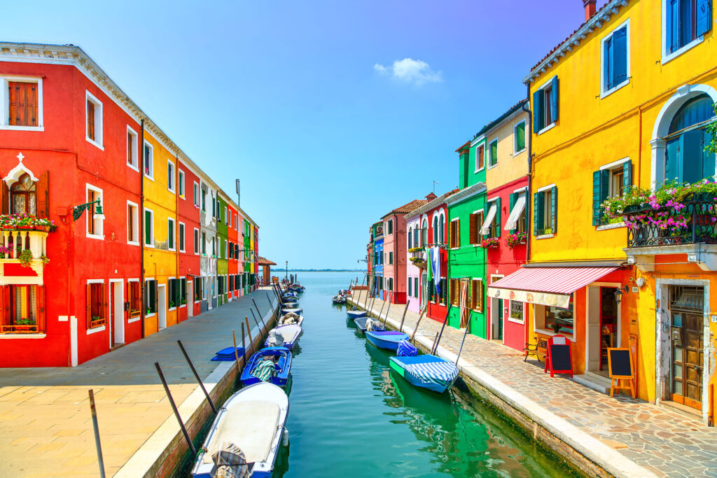 The Most Colorful Cities in Europe-burano-italy