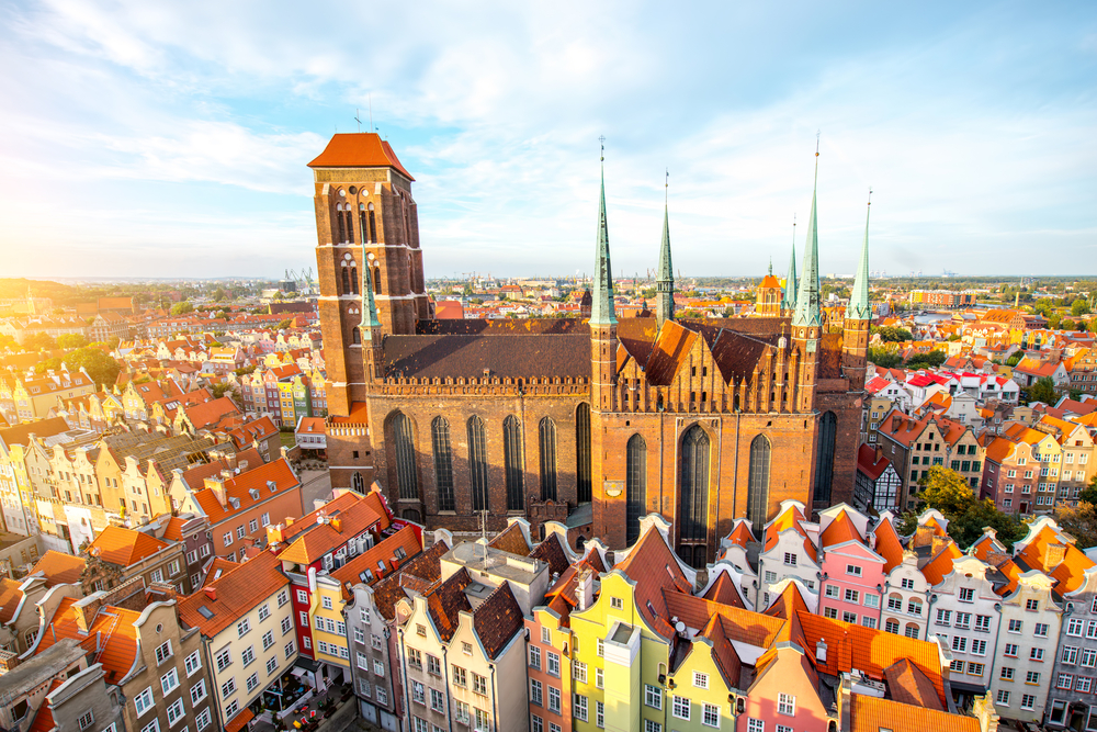 The Most Colorful Cities in Europe gdansk poland