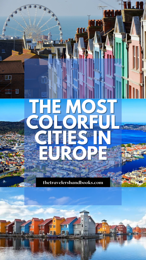 The Most Colorful Cities in Europe pin
